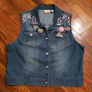 Chico's 80's vest